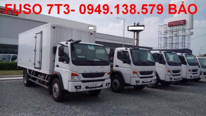 Bán xe tải FUSO FI 7t2 nhập khẩu,Bán FUSO FI trả góp tại Cần Thơ