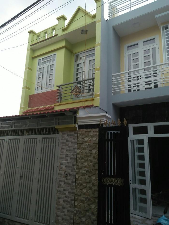 Nhà Phố 1 sẹc,1trệt,1lầu,DT 56m2,đường Vĩnh Lộc,BC