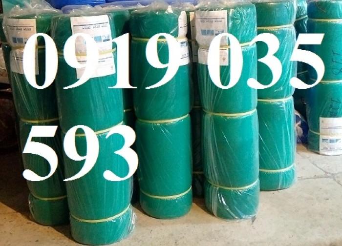 Lưới an toàn bao che công trình xây dựng màu xanh, lưới nhựa, dù, polyester, 8