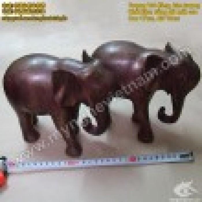 Tượng voi đồng cao 10cm và 20cm – Linh vật phong thủy2
