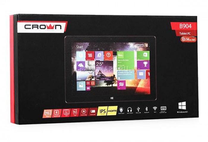 Máy tính bảng giá rẻ nhất hiện nay CROWN B904 Chạy Windows