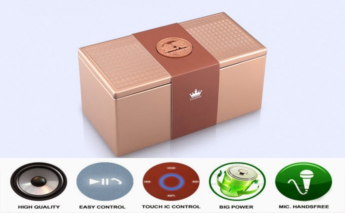 Loa Bluetooth Kingone K5 - Mang lại âm thanh cực sống động - MSN181068