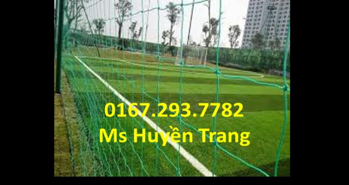 Lưới bao quanh sân bóng bền, đẹp, chất lượng, giá tốt.