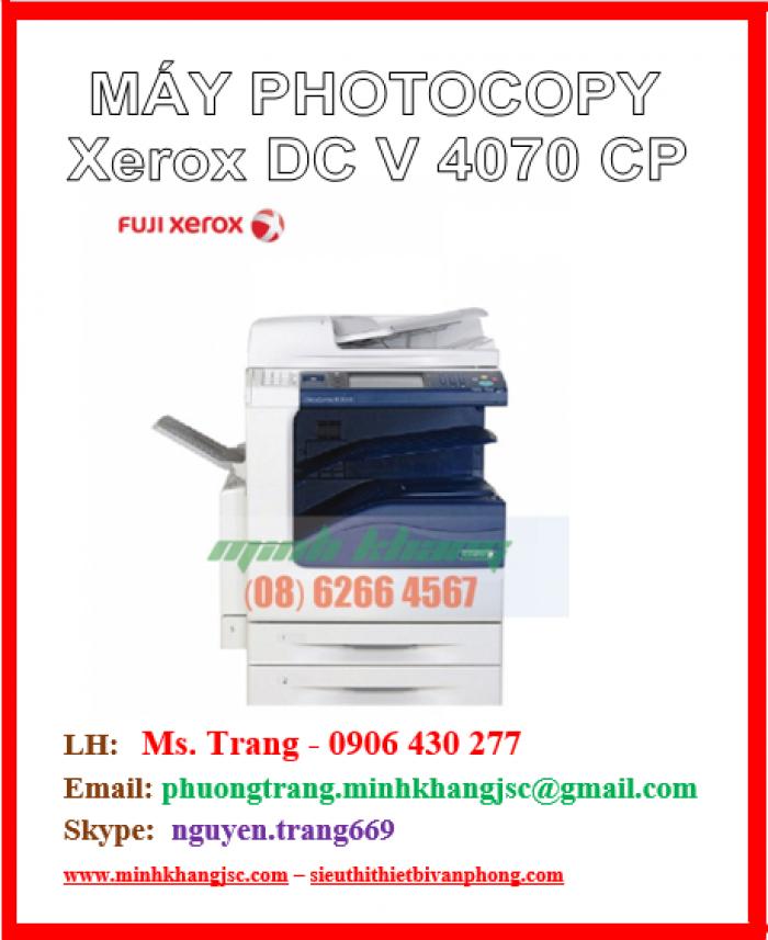 Máy photo Fuji Xerox V4070 CP giá cực rẻ0