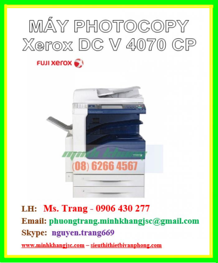 Máy photo Fuji Xerox V4070 CP giá cực rẻ2