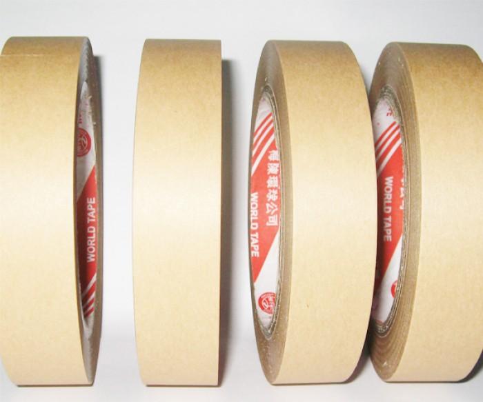 Băng keo giấy nâu (giấy da bò) giá sỉ0