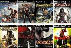 Đĩa game PS2