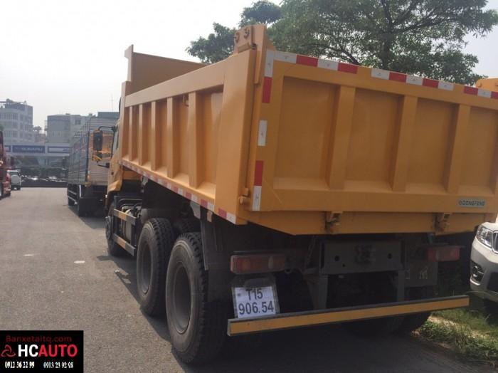 Xe tải ben 3 chân Dongfeng Hoàng Huy
