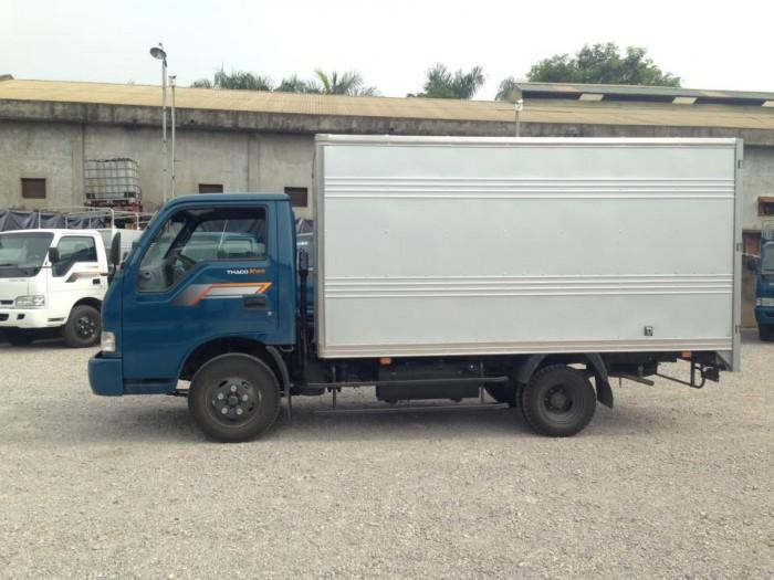 Xe tải trường hải k165 thùng kín