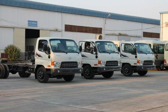 Xe Tải Hyundai Hd72 3.5 Tấn Đồng Vàng - Thùng Kín Inox, phân Phối Tại Các Tỉnh Thành