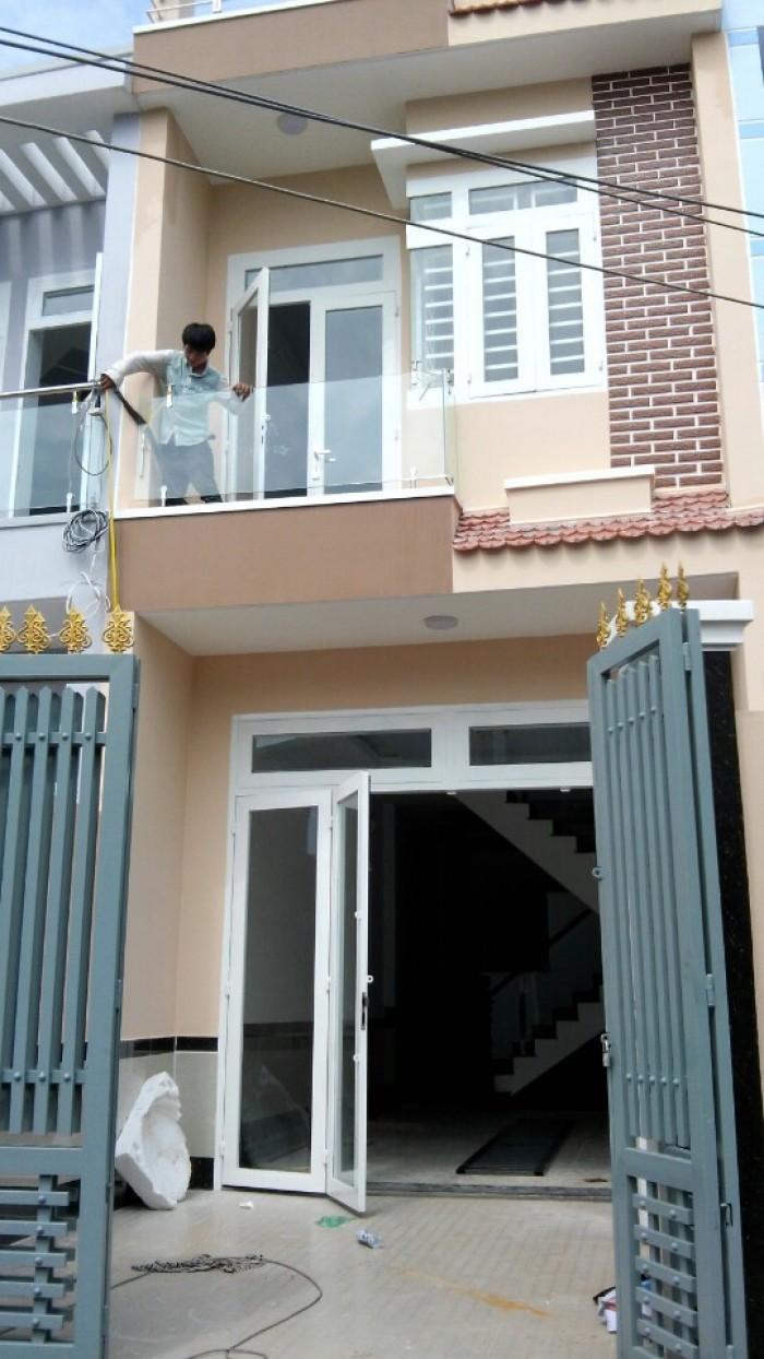 Nhà Phố 1 sẹc,4x14,UBND Vĩnh Lộc B,Bình Chánh