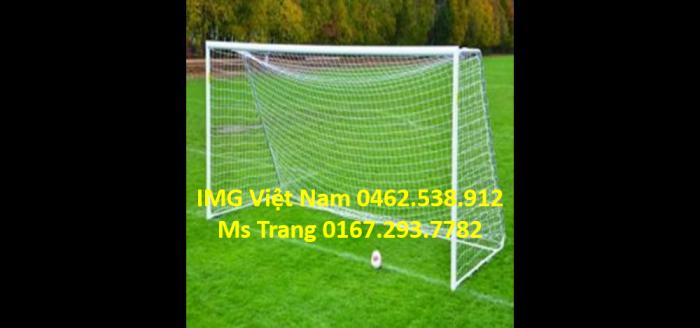 Lưới bóng đá, chỉ vá lưới, lưới cầu môn khung thành nhựa trắng dẻo bền