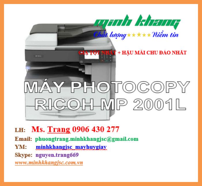 Máy photocopy Ricoh MP 2001L0