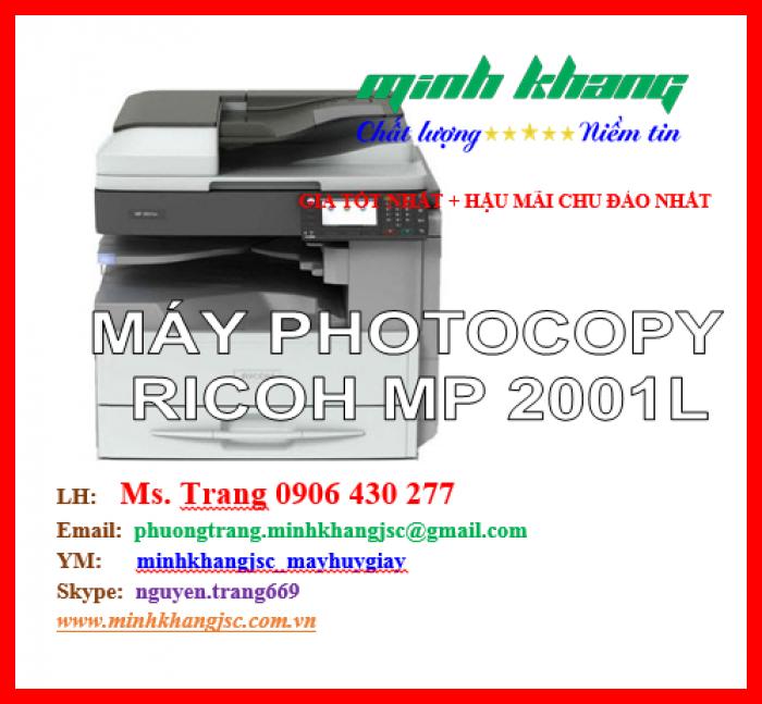 Máy photocopy Ricoh MP 2001L1