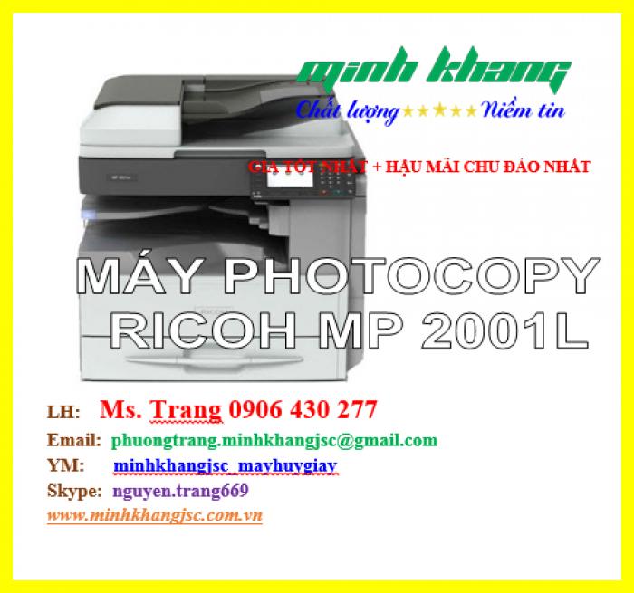 Máy photocopy Ricoh MP 2001L3