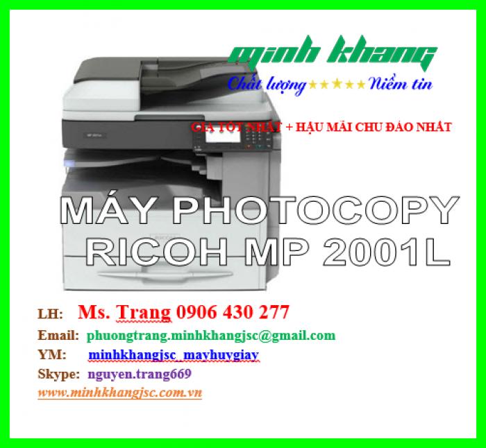 Máy photocopy Ricoh MP 2001L4