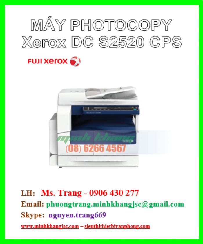 Máy photocopy Fuji Xerox Docucentre S 2520 CPS1