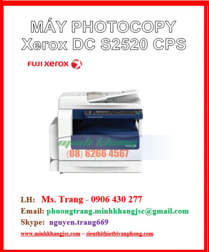 Máy photocopy Fuji Xerox Docucentre S 2520 CPS3