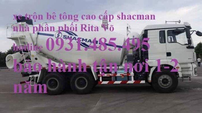 Giá xe trộn bê tông shacman