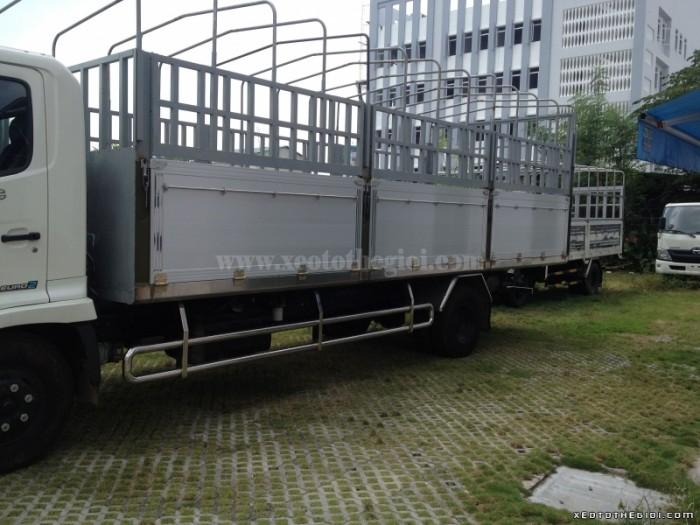 Chuyên cung cấp xe tải Hino 6 tấn FC9JJSW thùng kín, mui bạt, ben, chở dầu,...