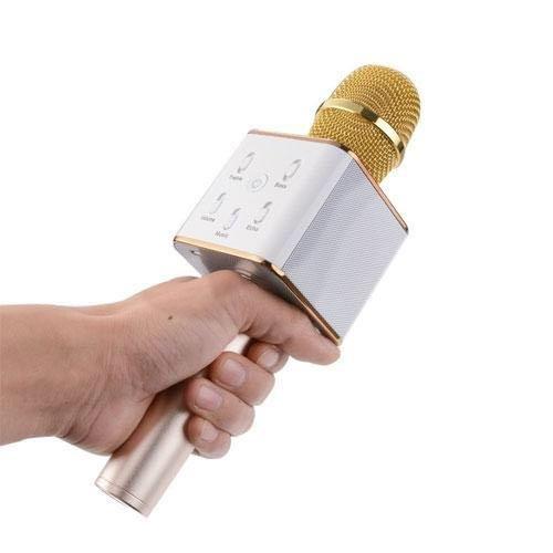 Micro Q7 Karaoke kiêm Loa bluetooth 3in1 ÂM THANH CHUẨN2