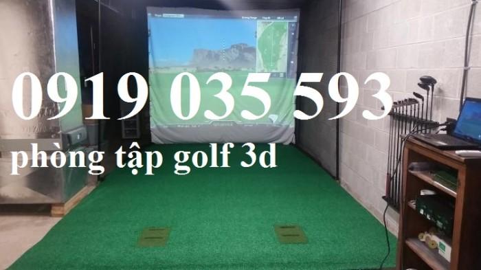 Thi công lắp đặt phòng tập golf 3D, thi công lưới an toàn, thi công lưới bóng đá