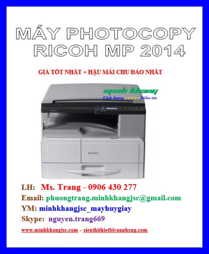 Máy photocopy Ricoh MP2014 giá cực rẻ2