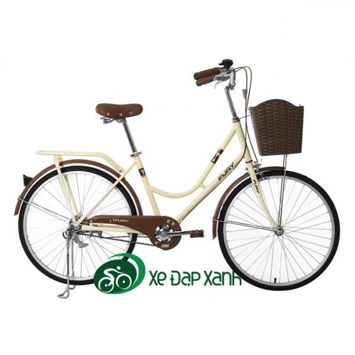 Xe đạp thông dụng Fury BH602 XE ĐẸP GIÁ RẺ CHO HỌC SINH