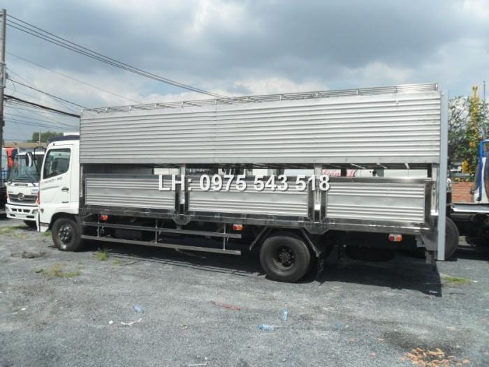 Thông tin bán xe tải Hino chở Heo 6 tấn Hino FC 2