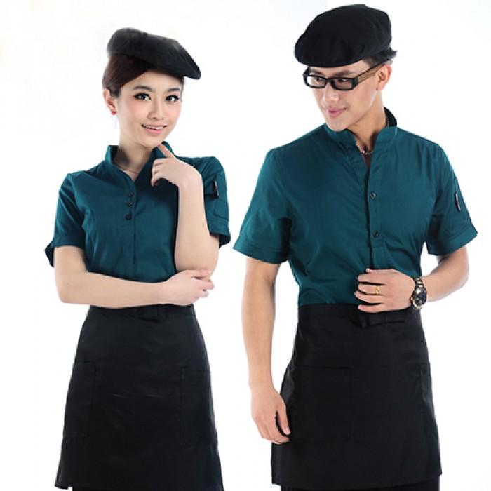 May đồng phục công sở, nhà hàng, khách sạn giá cực Sốc!!!