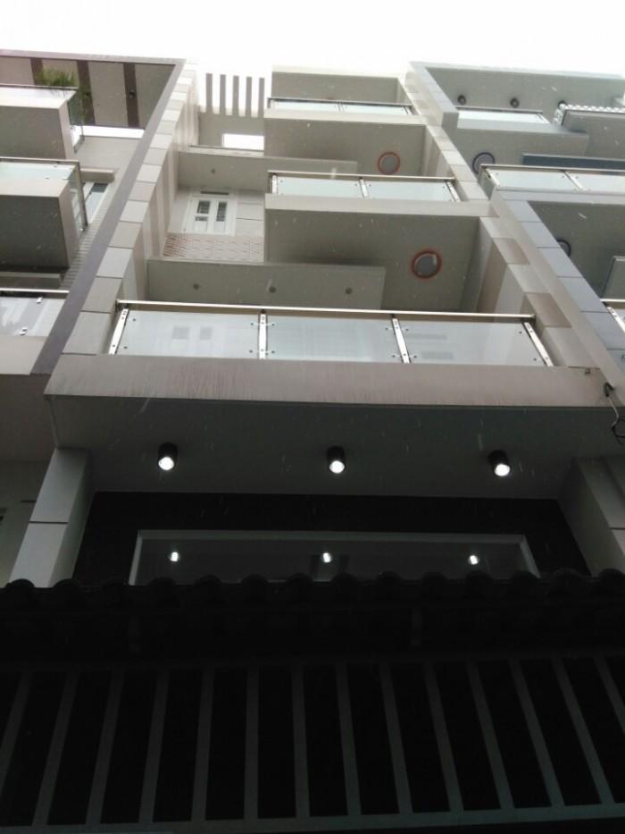 Nhà 1180/61 Quang Trung, Phường 8, Gò Vấp, HXH 6m, 4x13m, 1trệt+1Lửng,3Lầu, 5PN,6WC, Đông Nam