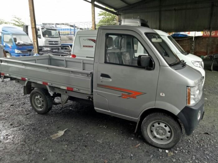 DongBen 870kg Thùng Mui Bạt Số tay (số sàn) Xe tải động cơ Xăng