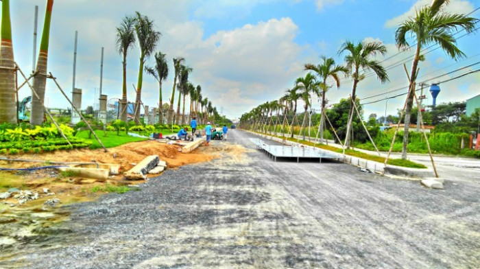 Đất nền dự án trung tâm q7, mặt tiền đường đào trí 40m
