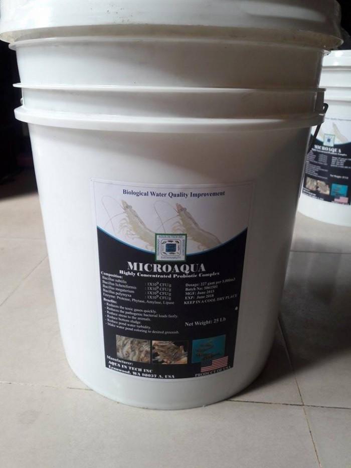 Vi sinh xử lý đáy và nước hàng nguyên liệu Mỹ1