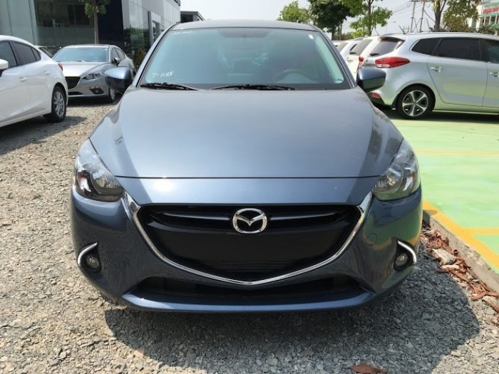 Mazda 2 màu xanh ngọc mới 100% có xe giao trong tuần   ( Minh Hùng )