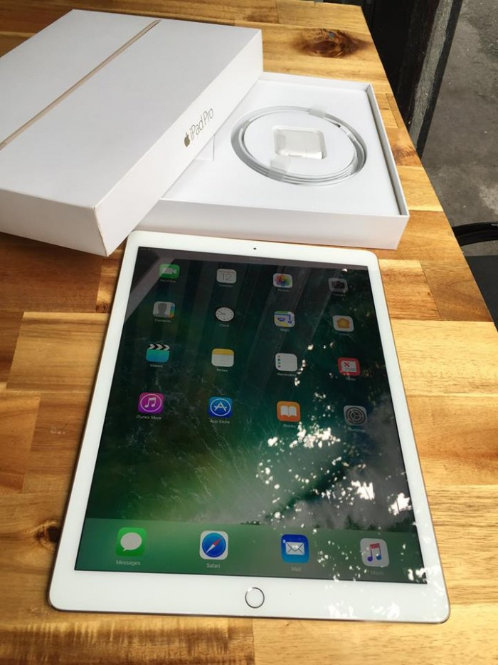 iPad Pro 12.9in ( Full box, Gold ), Bh 5-2017, giá rẻ