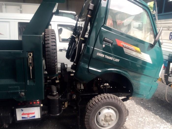 Xe Ben Chiến Thắng 1T2 giá rẻ, xe tải ben 1T2, ben 1t2 xe nhỏ gọn luồng lách mọi nẻo đường! 4