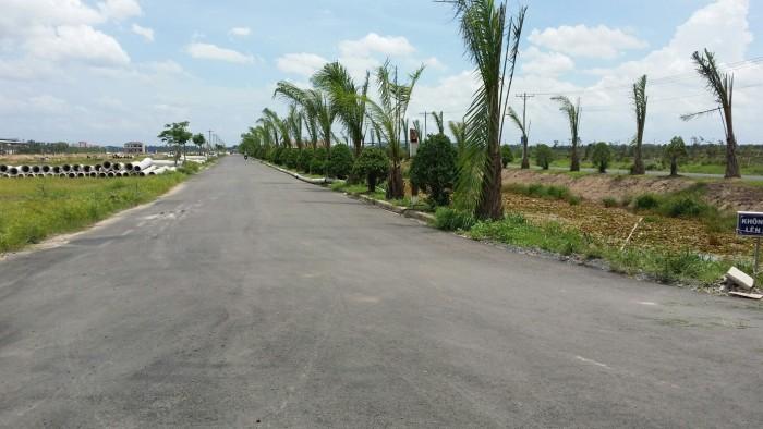 Đất thổ cư 100%, MT QL22_SHR,gần chợ,XDTD,100m2