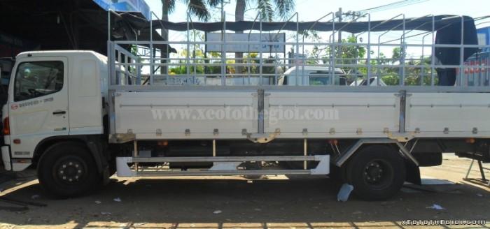Hino FG8JPSB thùng mui phủ bạt 9.4 tấn, thùng dài 7.3m, giao xe Toàn Quốc