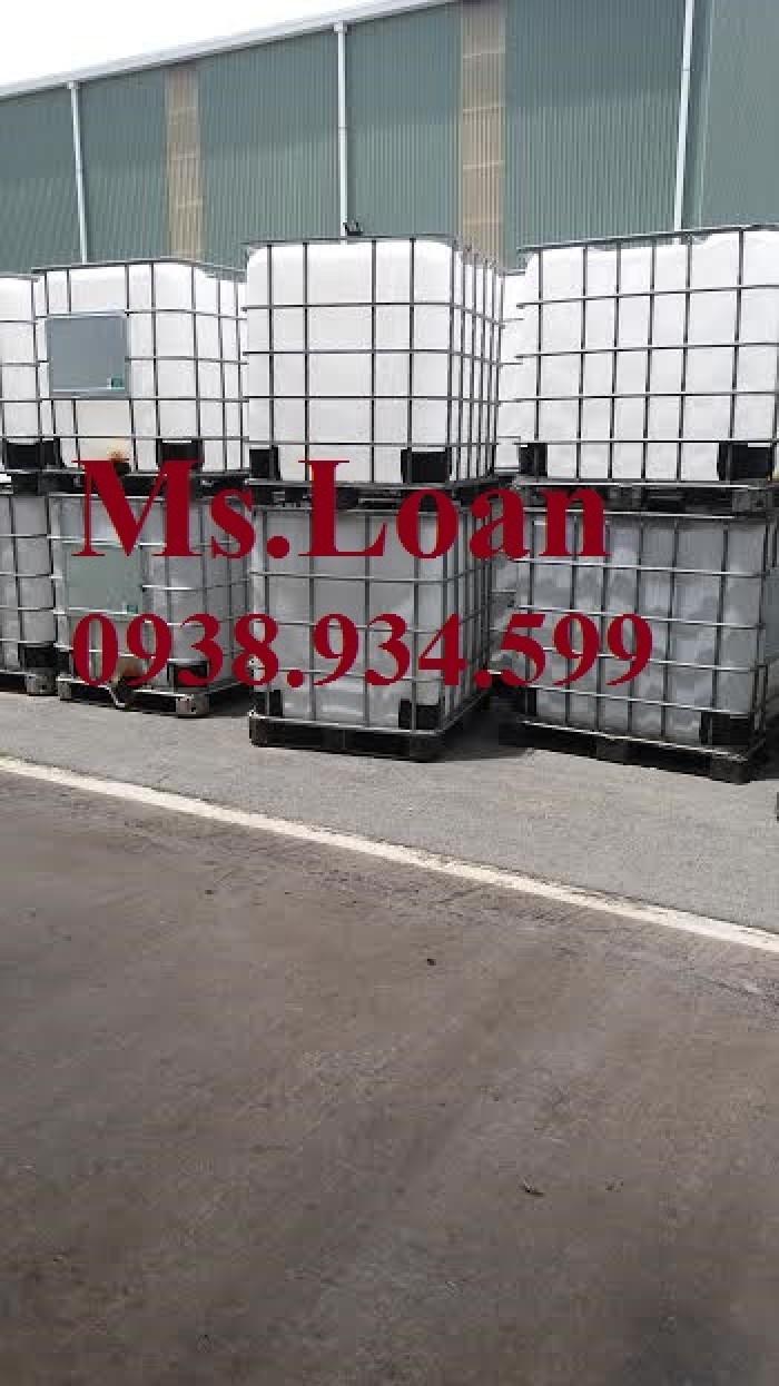 Bán bồn nhựa đựng hóa chất 1000 lít,bồn nhựa IBC 1000 lít,tank nhựa IBC 1000 lít0