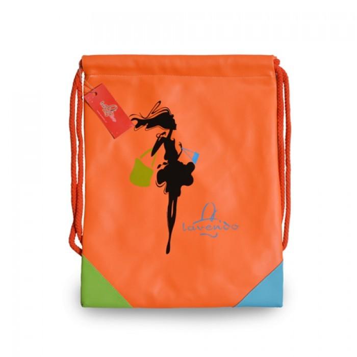 Mẫu balo rút màu cam đẹp, chất lượng từ thiết kế đến chất liệu với giá thành cực rẻ dành cho bạn gái | Các mẫu balo dây rút được Balo Túi Xách may từ đa dạng các loại chất liệu: vải bố, simili, giả da,... được đặc biệt in ấn các mẫu thiết kế độc đáo, in theo logo - slogan thương hiệu đặt may