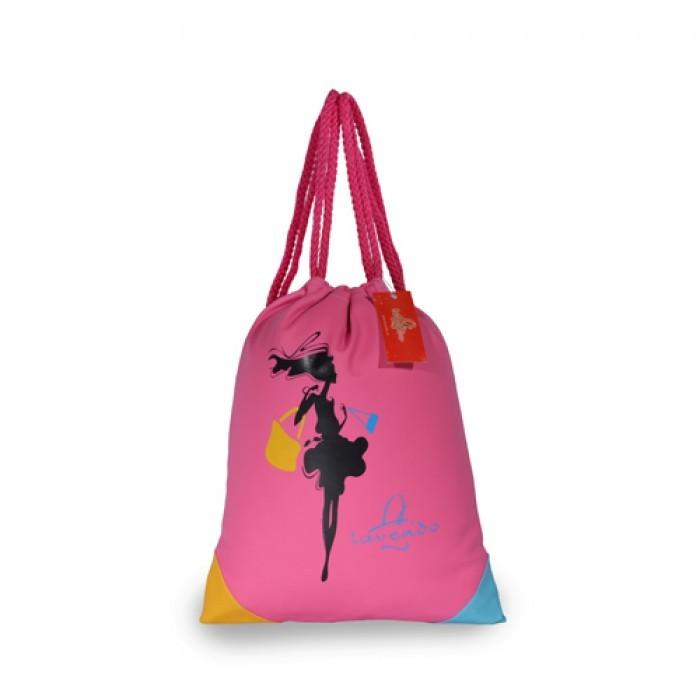 Mẫu balo rút màu hồng dễ thương chất lượng từ thiết kế đến chất liệu với giá thành cực rẻ dành cho bạn gái  | Balo Túi Xách nhận các đơn hàng may túi xách dây rút cho các nhãn hàng làm balo quảng cáo, balo quà tặng kèm sản phẩm