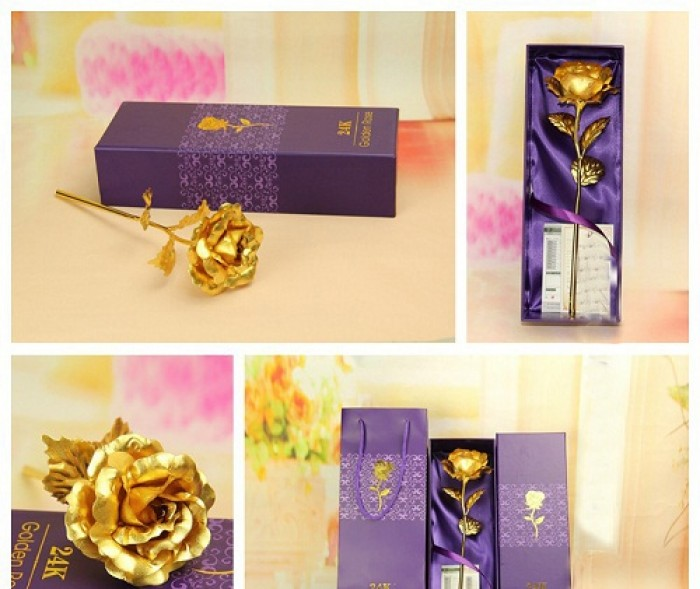 Hoa mạ vàng quà tặng ý nghĩa và độc đáo 20/100