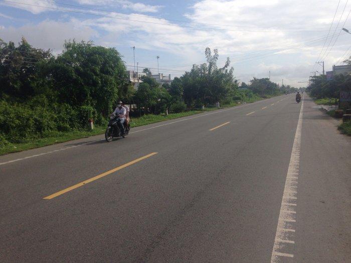 Đất nền mặt tiền quốc lộ Xã Tân Phong Giá Rai Bạc Liêu