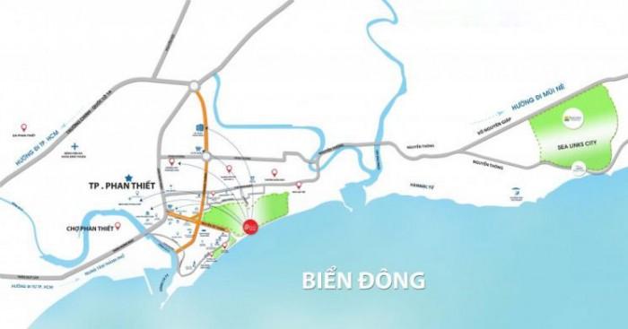 Sang nhượng nền nhà phố Rạng Đông trung tâm Phan Thiết