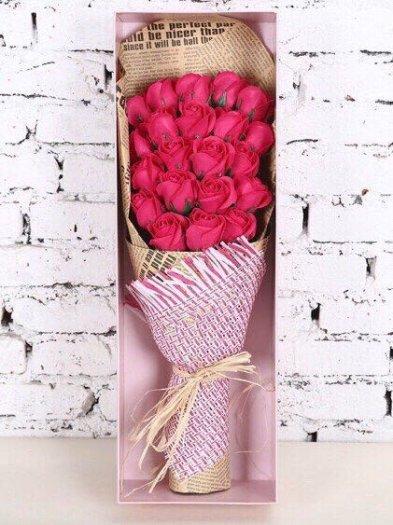 Hộp quà tặng hoa hồng sáp thơm bông đại2