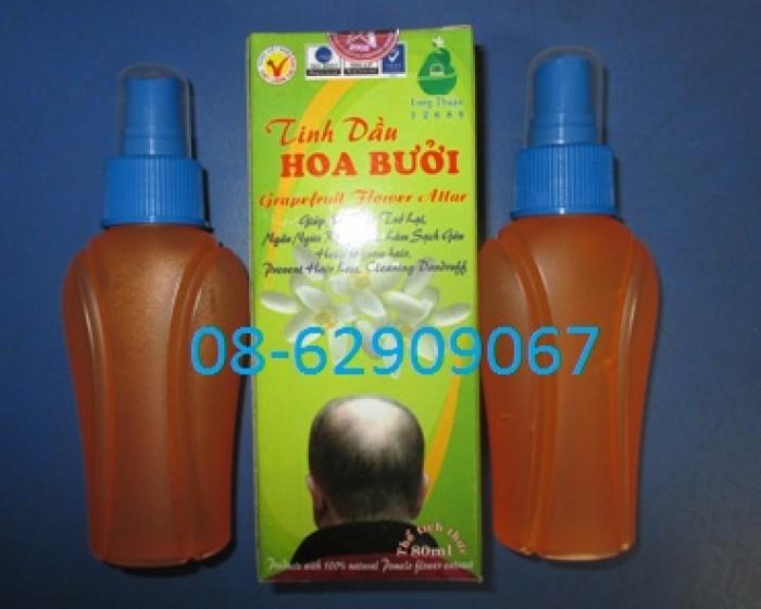 Tinh dầu bưởi Long Thuận - Giúp hết rụng tóc, hết hói đầu