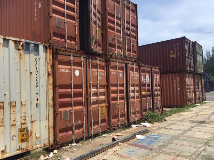 Thanh Lý Container Kho Giá Rẻ Nhất tại Quy Nhơn, LH Ms Liên