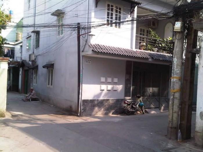 Bán nhà 2 mặt tiền hẻm Lạc Long Quân, phường 9, Tân Bình