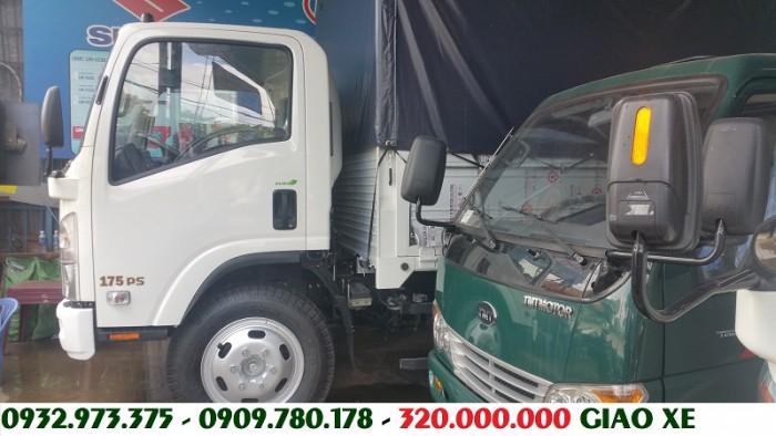 Giá bán xe tải Isuzu 8 tấn 2,8T2,8.2T thùng kín, bạt trả góp tiền mặt